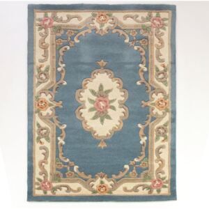 Dywan z wełny Flair Rugs Aubusson Blue, 120x170 cm