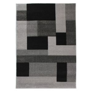 Czarno-szary dywan Flair Rugs Cosmos Black Grey, 160x230 cm