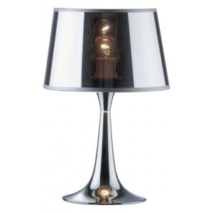 Lampa stołowa LONDON CROMO TL1 SMALL