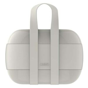 Lunch box Alessi Food Porter szary
