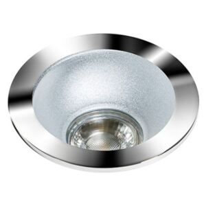 REMO 1 DOWNLIGHT CHROME : Odbłyśnik - Aluminium Wpustowe (oczka) Chrom GU10 LED AZ1730+AZ0821