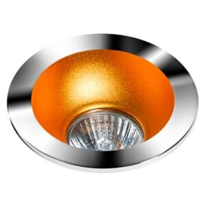 REMO 1 DOWNLIGHT CHROME : Odbłyśnik - Gold Wpustowe (oczka) Chrom GU10 LED AZ1730+AZ0824