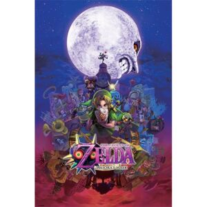 Plakat, Obraz The Legend Of Zelda - Majora's Mask, (61 x 91,5 cm)