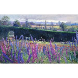Timothy Easton - Reprodukcja Hoeing Against the Hedge 1991