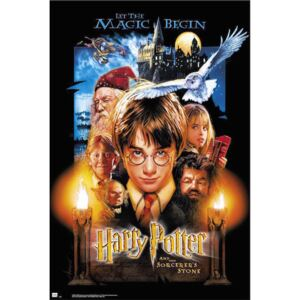 Plakat, Obraz Harry Potter And The Sorcerers Stone, (61 x 91,5 cm)