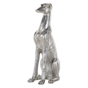 Figurka pies srebrna GREYHOUND
