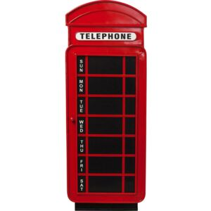 Tablica Magnet Board Telephone 37x99 cm czerwona