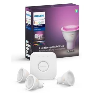 Philips Zestaw podstawowy Philips HUE WHITE AND COLOR AMBIANCE 3xGU10/5,7W/230V P3098