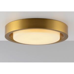 Discus Brass - średni plafon panel LED 28cm