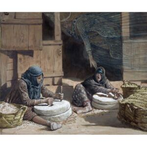 James Jacques Joseph Tissot - Reprodukcja The Two Women at the Mill illustration for 'The Life of Christ' c 1886-94