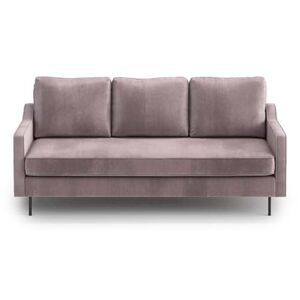 Sofa Abbe 3-osobowa, Powder Pink