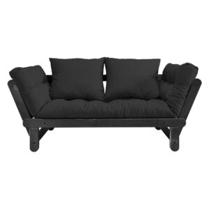Sofa rozkładana Karup Design Beat Black/Dark Grey
