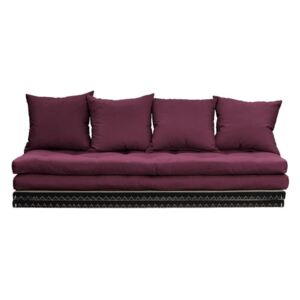 Sofa wielofunkcyjna Karup Design Chico Light Bordeaux