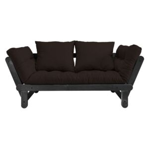Sofa rozkładana Karup Design Beat Black/Brown