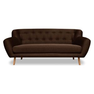 Brązowa sofa 3-osobowa Cosmopolitan design London
