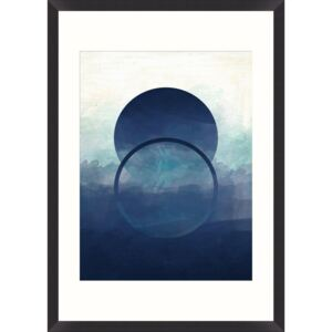 Oprawiony plakat Art Abstract Ombre I