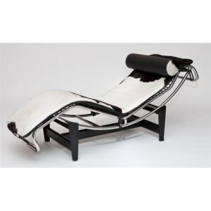 Leżanka do salonu Le Corbusier insp. LC4 Chaise Lounge