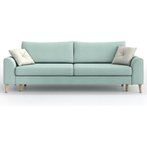 Sofa William 3 osobowa z funkcją spania, Aquamarine Mint