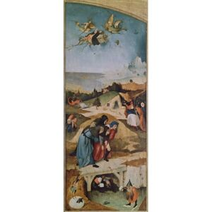 Hieronymus Bosch - Reprodukcja Left wing of the Triptych of the Temptation of St Anthony oil on panel