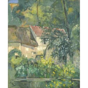 Paul Cezanne - Reprodukcja House of P re Lacroix 1873