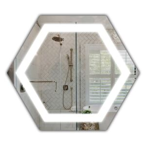 Lustro LED Hexagon H LED