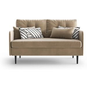 Jasnobrązowa sofa 2-osobowa Daniel Hechter Home Memphis Light Brown
