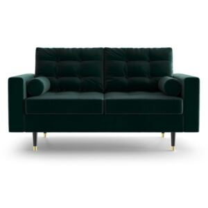 Zielona sofa 2-osobowa Daniel Hechter Home Aldo Green Bottle