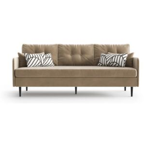 Jasnobrązowa sofa 3-osobowa Daniel Hechter Home Memphis Light Brown