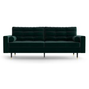 Zielona sofa 3-osobowa Daniel Hechter Home Aldo Green Bottle