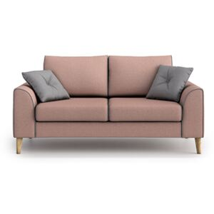 Sofa William 2 osobowa, Marshmallow/Gris