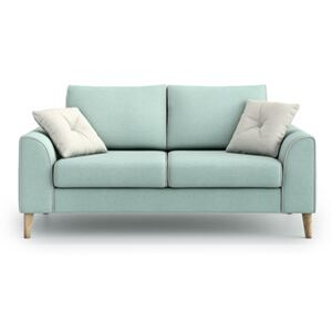 Sofa William 2 osobowa, Aquamarine Mint/Melva 02