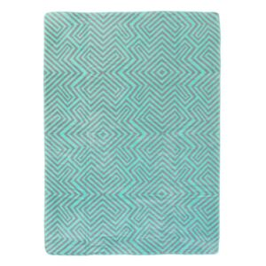Koc Cotton Cloud 150x200cm Mint Maze