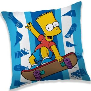 Poduszka The Simpsons Bart skater, 40 x 40 cm