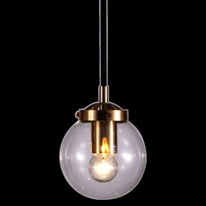 Creative Gold Single - lampa wisząca