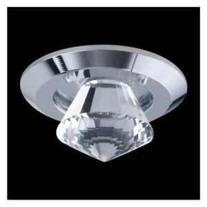 Luxera LED Downlight 71017 chrom 1xLED/1W 71017
