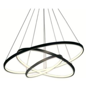 LED ring triple - żyrandol 60cm - potrójny pierścień LED
