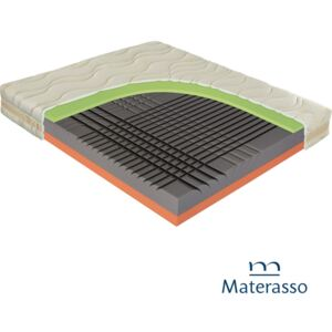 Materac piankowy SPINAL DUO Materasso - 90x200