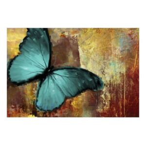 Fototapeta - Painted butterfly