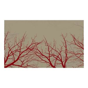 Fototapeta - Red-hot branches