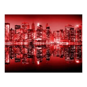 Fototapeta - Red-hot NYC