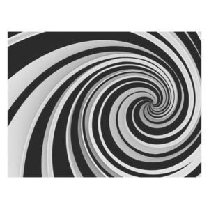 Fototapeta - Black and white swirl