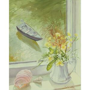 Timothy Easton - Reprodukcja First Flowers and Shells