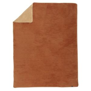 Koc Cotton Cloud 150x200cm Cognac&Beige