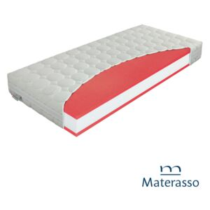Materac piankowy ANTIBACTERIAL PL Materasso - 120x200, Silver Protect