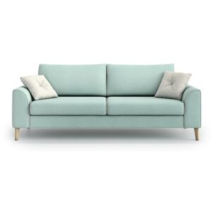 Sofa William 3 osobowa, Aquamarine Mint/Melva 02