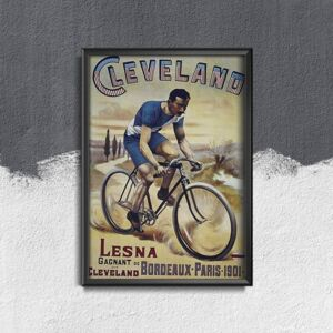 Plakat w stylu retro Plakat w stylu retro Plakat reklamowy Clement Cycles