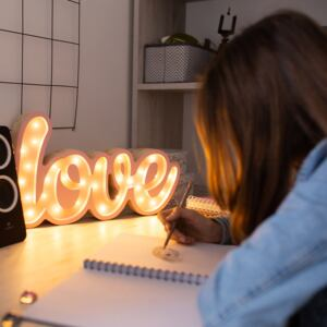 LOVE - Lampa Lights My Love