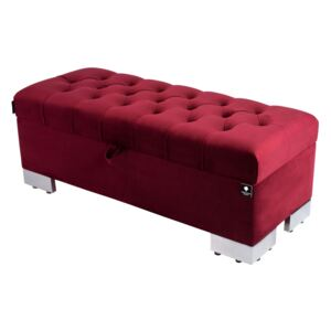 Kufer Pikowany CHESTERFIELD Bordo / Model Q-4 Rozmiary od 50 cm do 200 cm