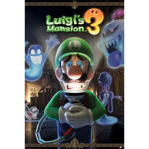 Plakat, Obraz Luigi's Mansion 3 - You're in for a Fright, (61 x 91,5 cm)