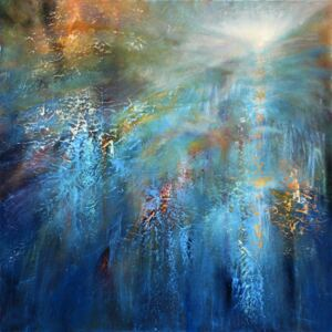 Ilustracja Another blue morning, Annette Schmucker